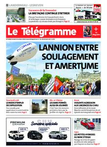 Le Télégramme Landerneau - Lesneven – 24 octobre 2020