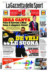 La Gazzetta dello Sport – 30 dicembre 2020