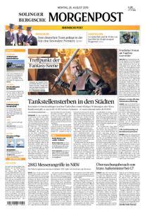 Solinger Morgenpost – 26. August 2019