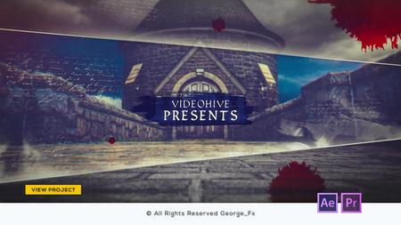 History - Parallax Slideshow -  After Effects & Premiere Pro Templates (Videohive)