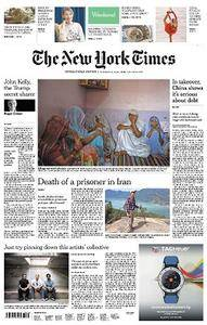 International New York Times - February 24-25, 2018