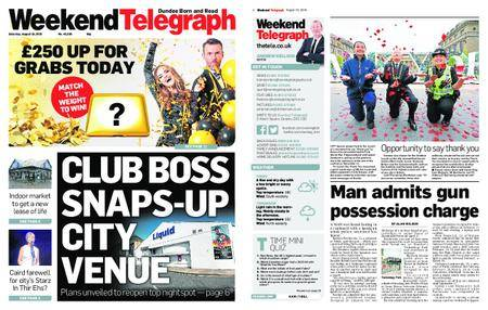 Evening Telegraph First Edition – August 18, 2018