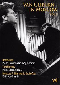 Van Cliburn in Moscow Vol.1 - Beethoven: Piano Concerto No.5; Tchaikovsky: Piano Concerto No.1 (2008/1962)