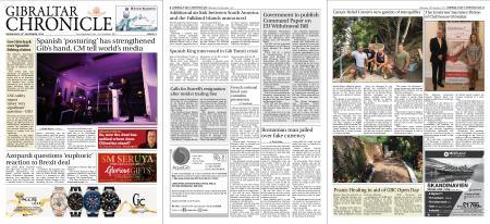 Gibraltar Chronicle – 28 November 2018