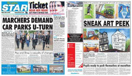 Shropshire Star Shrewsbury Edition – June 15, 2018
