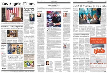 Los Angeles Times – January 04, 2021