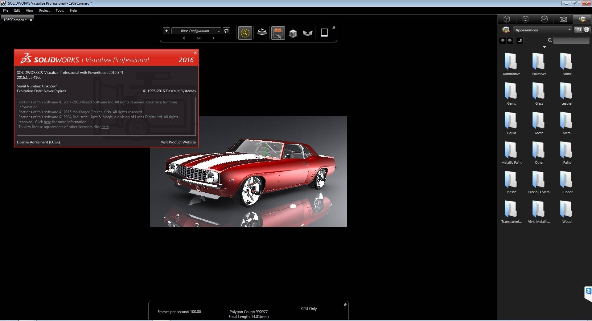 DS SolidWorks Visualize Professional 2016 SP1 / AvaxHome