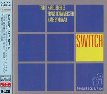 Karel Boehlee Trio - Switch (1984) {2015 Japan Timeless Jazz Master Collection Complete Series}