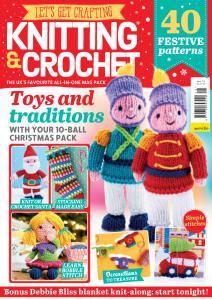 Let's Get Crafting Knitting & Crochet - Issue 116 - November 2019