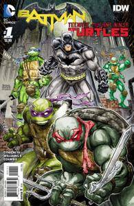 Batman / Tortugas Ninja #1-6