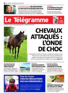 Le Télégramme Ouest Cornouaille – 26 août 2020