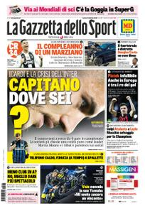 La Gazzetta dello Sport Roma – 05 febbraio 2019