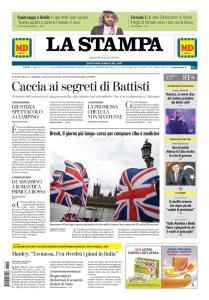 La Stampa Torino Provincia e Canavese - 15 Gennaio 2019