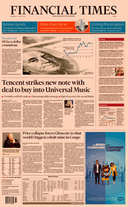 Financial Times Europe – 07 August 2019