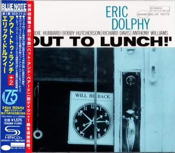 Eric Dolphy - Out To Lunch (1964) {Blue Note Japan SHM-CD TYCJ-81013 rel 2013} (24-192 remaster)