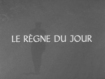 The Times That Are (1967) Le règne du jour