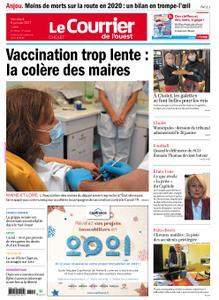 Le Courrier de l'Ouest Cholet – 08 janvier 2021