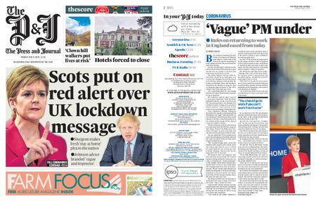 The Press and Journal Moray – May 11, 2020