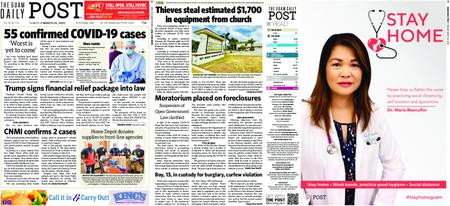 The Guam Daily Post – March 29, 2020