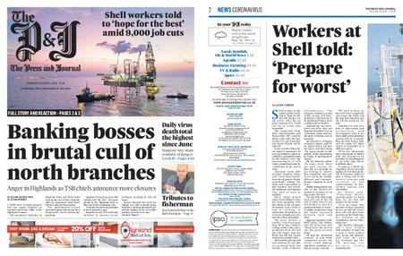 The Press and Journal Moray – October 01, 2020