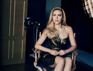 Scarlett Johansson by Dennis Leupold for Lux 2019 Campaign