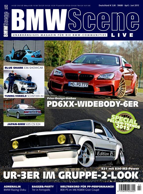 BMW Scene - April-Juni 2015