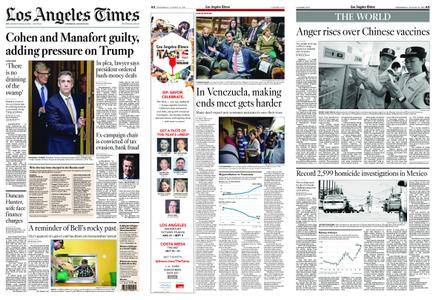 Los Angeles Times – August 22, 2018