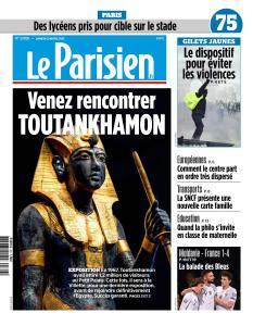 Le Parisien du Samedi 23 Mars 2019
