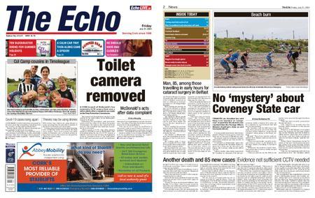 Evening Echo – July 31, 2020