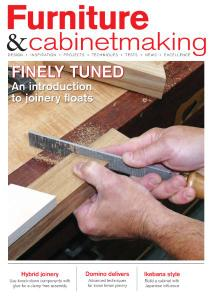 Furniture & Cabinetmaking - April 2019