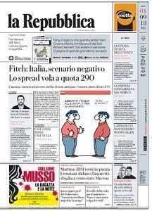 la Repubblica - 1 Settembre 2018