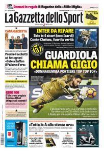 La Gazzetta dello Sport con edizioni locali - 16 Maggio 2017