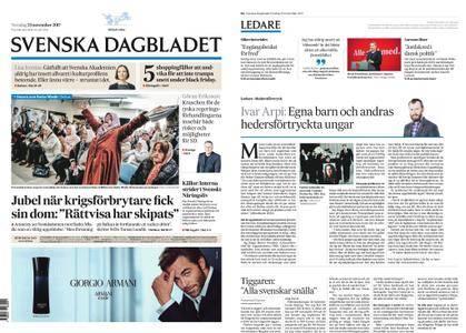 Svenska Dagbladet – 23 november 2017
