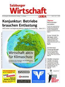 Salzburger Wirtschaft – 22. November 2019