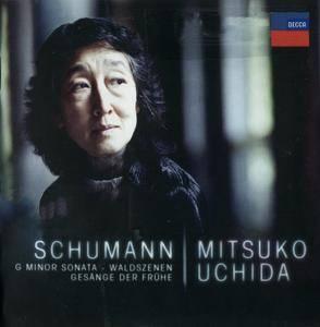 Schumann - Waldszenen, G Minor Sonata, Gesange der Fruhe - Mitsuko Uchida (2013) {Decca 478 5393}