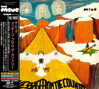 The Move - Message From The Country (1971) [Japan Mini-LP CD 2006]