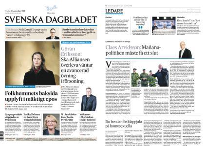 Svenska Dagbladet – 13 november 2018