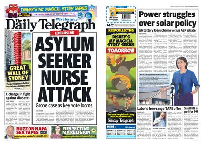 The Daily Telegraph (Sydney) – February 11, 2019