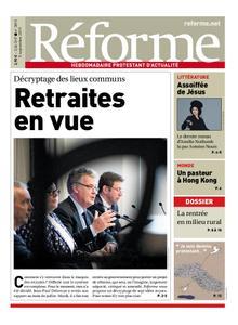Réforme – 04 septembre 2019