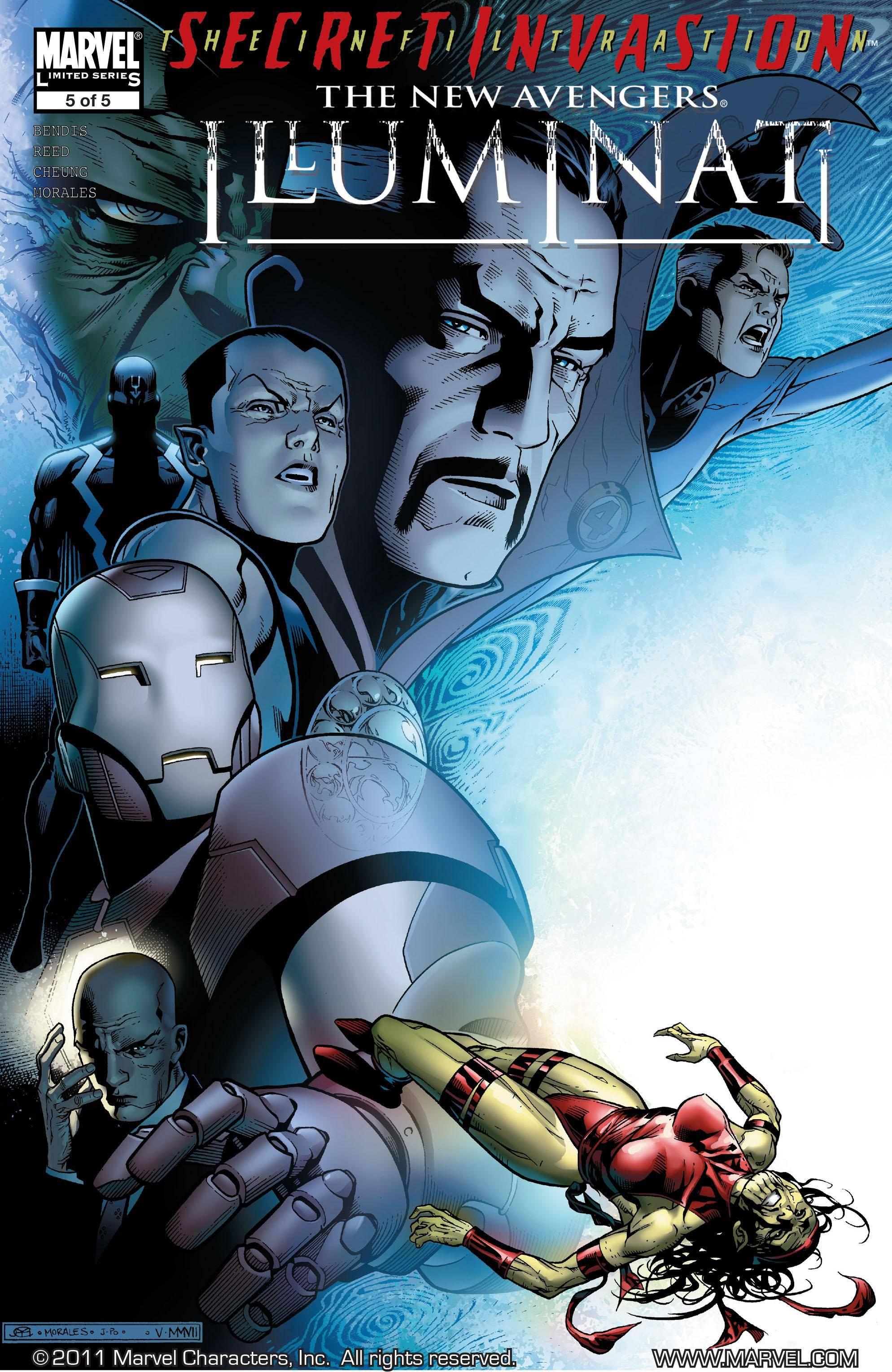 New Avengers - Illuminati 05 of 05 2008 digital