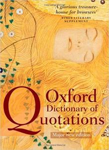 Oxford Dictionary of Quotations [Repost]