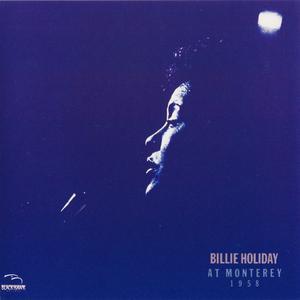 Billie Holiday - At Monterey 1958 (1986) {Black Hawk Japan, 32XB-100, Early Press}