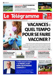 Le Télégramme Brest – 12 mai 2021