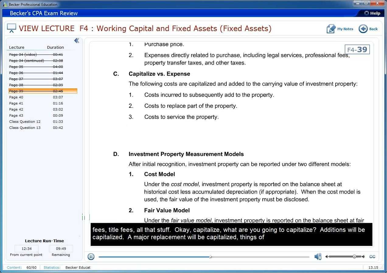Becker CPA Exam Review 2014 - Financial Accounting and Reporting (FAR)
