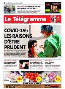 Le Télégramme Ouest Cornouaille – 12 mars 2020