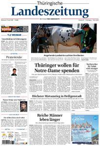 Thüringische Landeszeitung – 17. April 2019