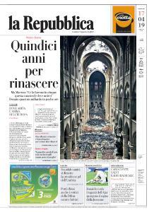 la Repubblica - 17 Aprile 2019
