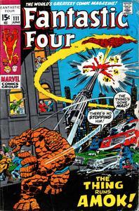 Fantastic Four 111 1971 HD