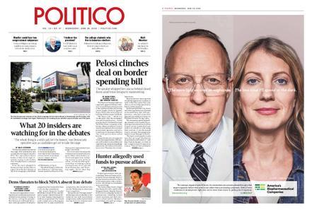 Politico – June 26, 2019