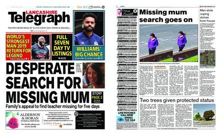Lancashire Telegraph (Blackburn, Darwen, Hyndburn, Ribble Valley) – August 17, 2019